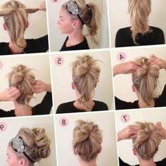 Coiffure pour cheveux long et fin - http://lookvisage.ru/coiffure-pour-cheveux-long-et-fin/ #Cheveux #Beauté #tendances #conseils