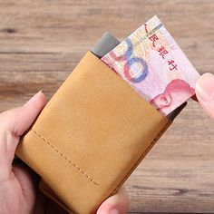 Automatic RFID Business Card Holder Credit Card Case Portable Name Cards Short W - US$10.99