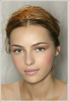 pretty, natural bridal makeup for brown eyes