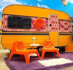 Campsite Hotel, un hôtel à thème à base de caravanes en Allemagne.