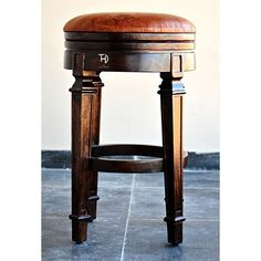 Up to 50% OFF ⭐ Buy barstool online in Sydney with free Home delivery, Round barstool made in solid Sheesham wood with a cushioned sheet at affordable price.