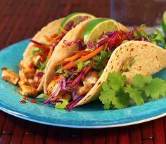 Tofu Tacos Recipe | How to make Tofu Tacos - Mexican