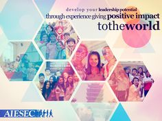 This is my graphic for applying as Creative/Graphic Designer of AIESEC Indonesia 1314
