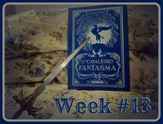 Week #13 | Nanies World  Foto do livro O Cavaleiro Fantasma, de Cornelia Funke Resenha: http://www.naniesworld.com/2013/03/o-cavaleiro-fantasma-cornelia-funke-geister-ritter-seguinte.html