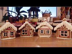 Biscuits, Isomalt, Christmas Cookies, Blog, Youtube, Gingerbread Houses, Xmas, Sweets, Crack Crackers