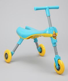 Take a look at this Paris Light Blue Bimba Bug Portable Scooter by Yuka Paris on #zulily today!