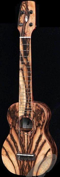 Seilen SLS-1605 black persimmon 14 fret Soprano - SPECTACULAR!! Lardys Ukulele of the day 2013 --- https://www.pinterest.com/lardyfatboy/