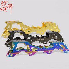 Dragon Aluminum(7075)inline Skate FRAME 231MM/243MM inline roller blade Frame Slalom skate shoes frame inline roller skate frame