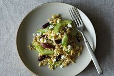 Lemon-Dill Orzo Pasta Salad with Cucumbers, Olives, and Feta   recipe on Food52