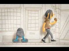 """Corto de Sebastian Baptista """"Retrocycling Robot"""""""