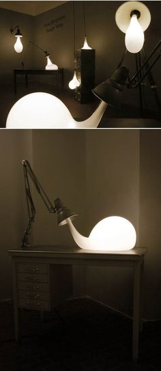 'Warped' lighting; reminds me of the work of Nacho Carbonell, whose furniture and sculptures appear to take on their own sense of life.