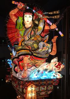 The Goshogawara city Tachineputa Festival is a summer festival held annually between August 4th and August 8th. Along with Aomori Nebuta Festival, Hirosaki Neputa Festival, and Kuroishi Yosare Festival, it is known as one of the four largest festivals of the Tsugaru region.