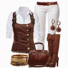 Outfits Trends For Ladies...                                                                                                                                                                                 More https://www.steampunkartifacts.com