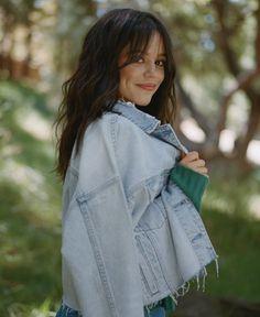 Jenna Ortega Jenna Ortega, Rain Jacket, Windbreaker, Raincoat, Bell Sleeve Top, Celebs, Instagram Posts, Beautiful, Tops