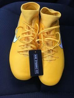 8c5d7e457 New Sz 10 Nike Mercurial Vapor 12 Elite NJR FG Soccer Cleats Shoes  AO3126-710