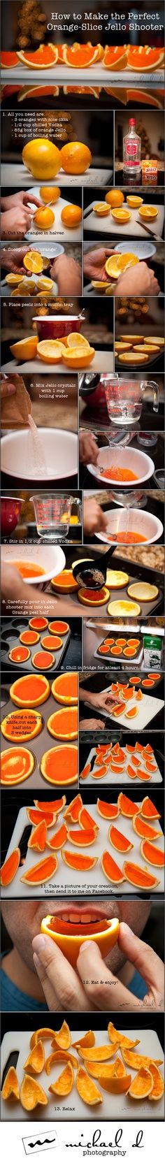<3 The Coolest Jello Shooter Instructions.I Made Theses Before And