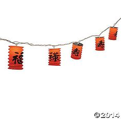 Chinese Lantern Light Set - Party Decorations & Party Lights & Special Effects Chinese New Year Party, Chinese Theme, New Years Party, Chinese Lanterns, Party Lights, Oriental Trading, Paper Lanterns, String Lights, Party Themes