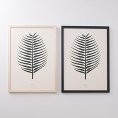 Palm Leaf Framed Art | New Art | NEW