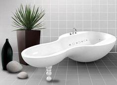 Bañera Moderna de Diseño Original
