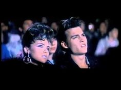 Old '80s movies/pepsi commercial with Johnny Depp