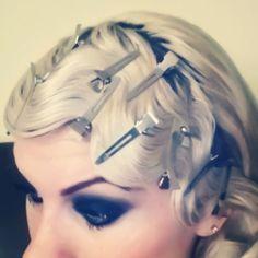 Fingerwaves 1920s style hair