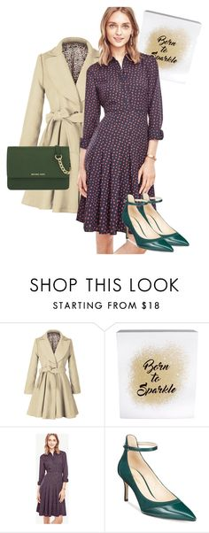 """""""dress"""" by masayuki4499 ❤ liked on Polyvore featuring Erica Lyons, Ann Taylor, Nine West and MICHAEL Michael Kors"""