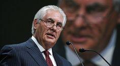Американский бизнесмен Рекс Тиллерсон, выдвинутый на пост госсекретаря..