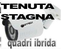 Telecamera videosorveglianza esterno HD ibrida