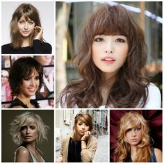 Hottest Bang Hairstyle Ideas For 2016 Haircuts Hairstyles And Hair Colors Short
