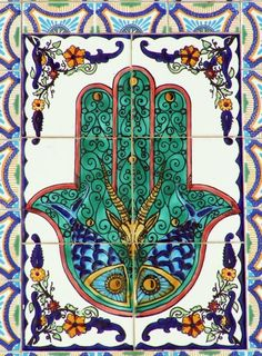 Hamsa is the hand of Prophet Muhammad's daughter Fatima. It is the symbol of patience, loyalty, faith and resistance against difficulties. According to common belief, it tells of the Fatima's struggle for dignity and her tough life. Thereby, purity, goodness and truth are blessed. For centuries, Fatima's Hand has been a powerful talisman for good luck and one of the most popular amulets in the world of Islam for protection.