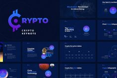 Crypto Powerpoint template is amazingly fitting for modern presentation, including powerful slides, charming infographics, amazing photo layouts, cool colors… Business Brochure, Business Card Logo, Presentation Design Template, Design Templates, Business Presentation, Design Patterns, Smart Art, Site Website, Ui Web