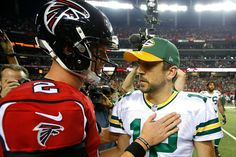 The Green Bay Packers, after postseason victories over the New York Giants and Dallas Cowboys, advance to the NFC Championship Game against the Atlanta Falcons at the Georgia Dome in Atlanta, Ga., on Sunday, Jan. 22, 2017 (1/22/17). The Falcons, who earned a first-round bye, beat the Seattle Seahawks to earn a spot in the conference championship. Aaron Rodgers will lead the Packers against Falcons' Matt Ryan in a battle between two of the NFL's top passers and a couple of MVP candidates.