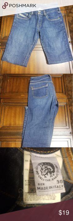 4c2ea0de Diesel Industry Denim Size 30 Jeans Size 30 waist Inseam 32 Diesel Jeans  Boot Cut