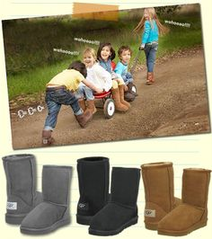 Love!!!UGG discount site. I'm sure these will be on one of my girls' Xmas list... #UGG #Boots FOR #Winter