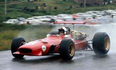 Chris Amon Ferrari 312/68 Zandvoort