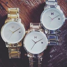 Mvmt watches for her in gold silver and rose gold. #thehorse #watch #watches #watchporn #lady #womens #fasion #jewlery #f4f #fashionweek #style #streetstyle #mvmt #rose #kimkardashian #michaelkors #affordable #time by womens_timepieces