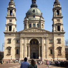 Sankt Stefanbasilikan ⛲️ #travel #explore #budapest #hungary #basilica #history #culture #vagabond #johanna30