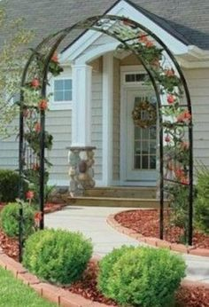 1000 Images About Front Yard Fence On Pinterest Arbors