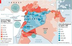 Daily chart: Syria's drained population | The Economist