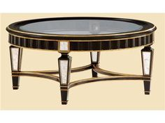 Shop for Marge Carson Borghese Round Cocktail Table, BH00, and other Living Room Tables at Elite Interiors in Myrtle Beach, SC. Named in honor of the famed Roman Villa designed in 1605 for Cardinal Scipione Borghese, the Borghese Collection by Marge Carson incorporates elements of ancient Roman architecture to create gracious furnishings for today's more modestly sized urban and suburban palazzos.