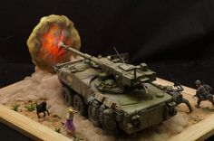M1128 Stryker By Modeler Mike Chien 1:35 AFV Club