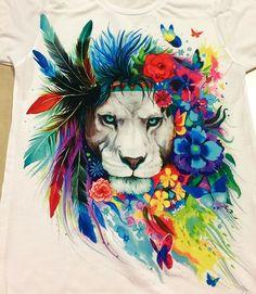 """Brand New """"King of Lions"""" design!!! What do you think??? www.ElectroThreads.com"""