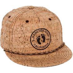 2a9a2a9ab3271 Hang Ten Mens Cork Strapback Baseball Cap (Brown) at Amazon Men s Clothing  store