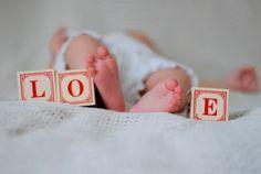 Such a cute baby photo idea!