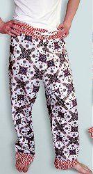 Pajama Pants with Cargo Pockets