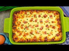 Teraz będziesz gotować ziemniaki tylko według tego przepisu! | Smaczny.TV - YouTube Pasta Carbonara, Hawaiian Pizza, Potato Recipes, Lasagna, Quiche, Food And Drink, Potatoes, Tasty, Breakfast