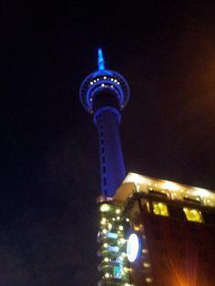 Sky Tower Auckland, Cn Tower, New Zealand, Sky, Building, Purpose, Meet, Travel, Holidays