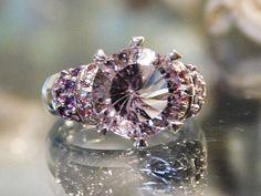 Vintage Amethyst Ring Orchid Amethyst 5.5 Ct by PattysJewelryEtc