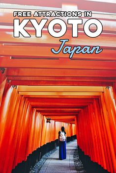 If you're traveling to Kyoto on a budget, it's definitely possible as there are plenty of free things to do in Kyoto.Check out our 5 top free things to do in Kyoto which include some of Kyoto's top attractions. Japan Travel Tips, Asia Travel, Travel Advice, Travel Guides, Free Things To Do, How To Memorize Things, Bhutan, Budget Travel, Travel Money