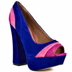 Heels.... Steve Madden    Gaayle - Blue Multi